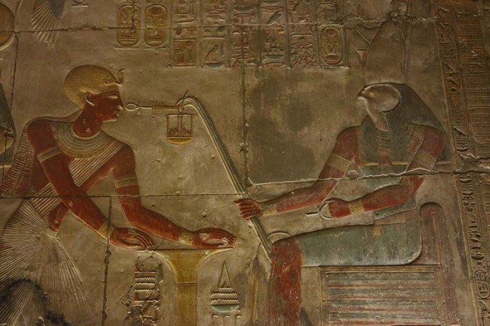 Helicopter, tank, submarine: what is actually depicted on the walls of the temple in Abydos 94