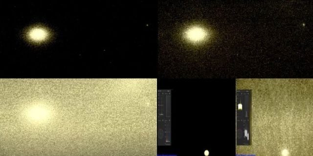 Amateur astronomer recorded the mysterious pulsating rays of light emanating from Venus 87