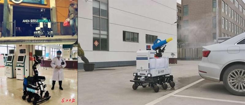 Robots in hospitals
