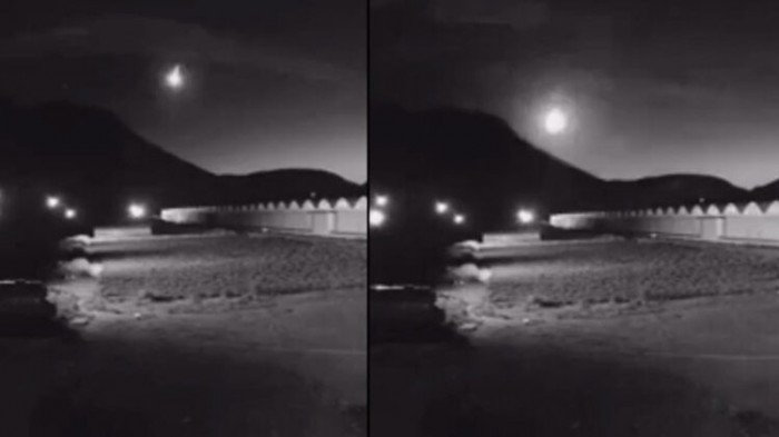 A bright fireball exploded over Armenia 2