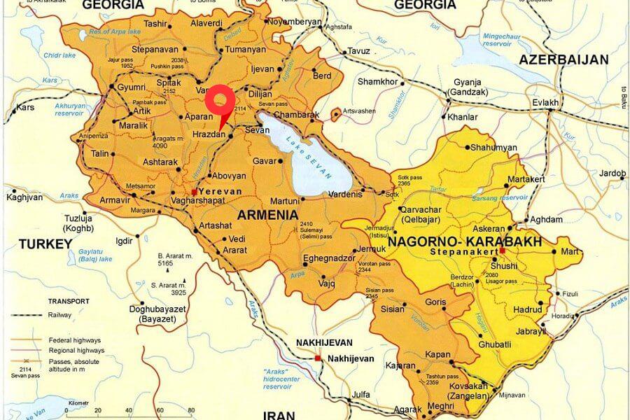 A bright fireball exploded over Armenia 3
