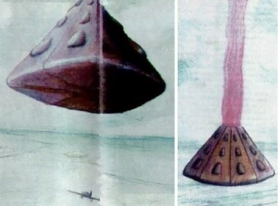 Pilot Encounters Giant Pyramid-shaped UFO in Brazil | Tall white ...