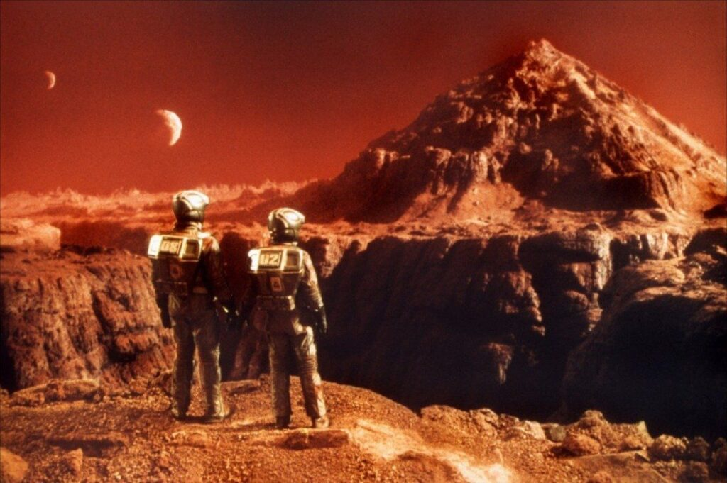 Where can people live on Mars? 1