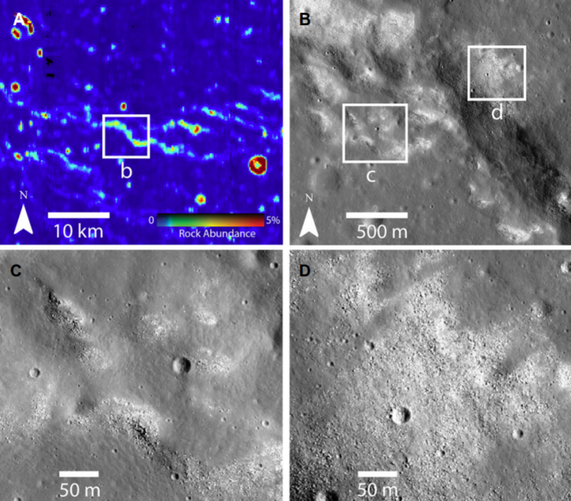 Signs of ongoing tectonic activity found on the moon 2
