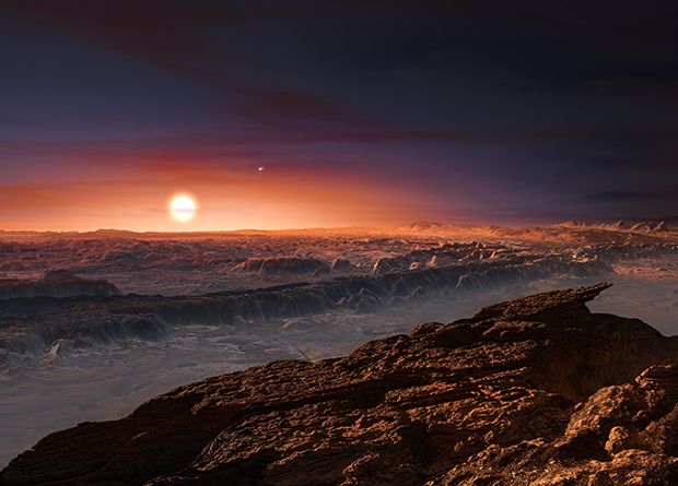 ESPRESSO spectrograph confirms the existence of an earth-like planet near Proxima Centauri 8