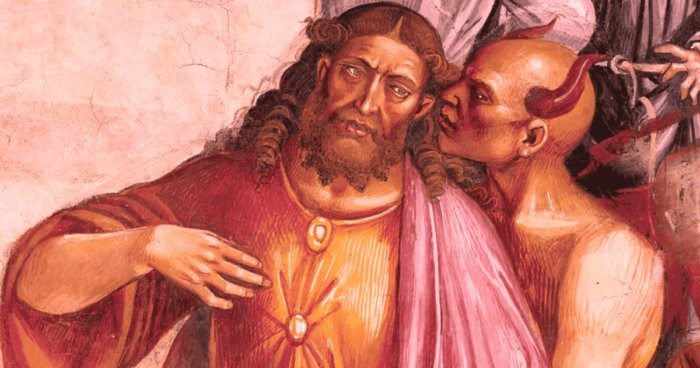 Image of the Antichrist on a 14th-century fresco - who painted it and why? 18
