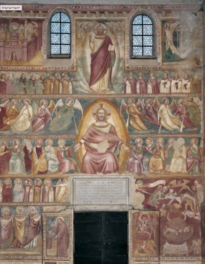 Image of the Antichrist on a 14th-century fresco - who painted it and why? 15