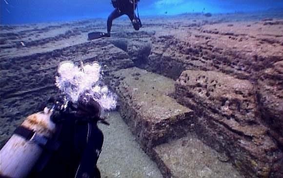 Yonaguni's underwater ruins - the remains of Lemuria? 138