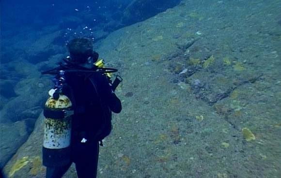 Yonaguni's underwater ruins - the remains of Lemuria? 150