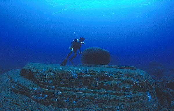 Yonaguni's underwater ruins - the remains of Lemuria? 146