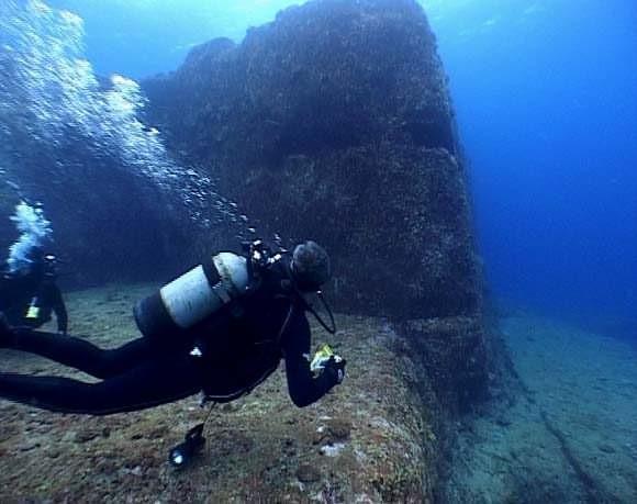 Yonaguni's underwater ruins - the remains of Lemuria? 152