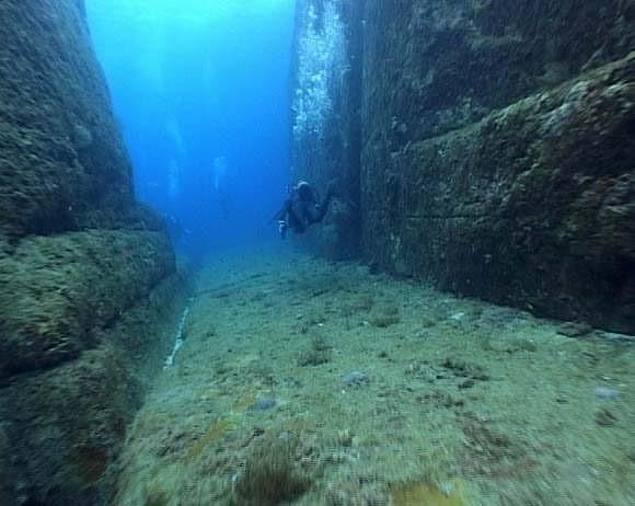 Yonaguni's underwater ruins - the remains of Lemuria? 155