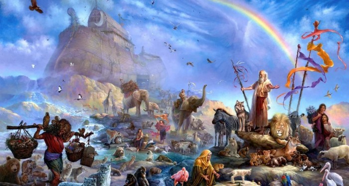 Amazing stories about the great floods in the history of mankind 136