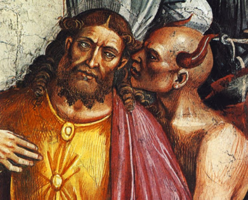 Image of the Antichrist on a 14th-century fresco - who painted it and why? 12