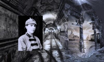 The mystery of Atlantis in a mysterious Nazi bunker 87