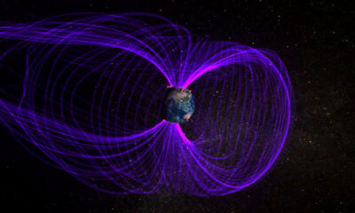 The Earth's magnetic field has been quiet lately. Until now! 93
