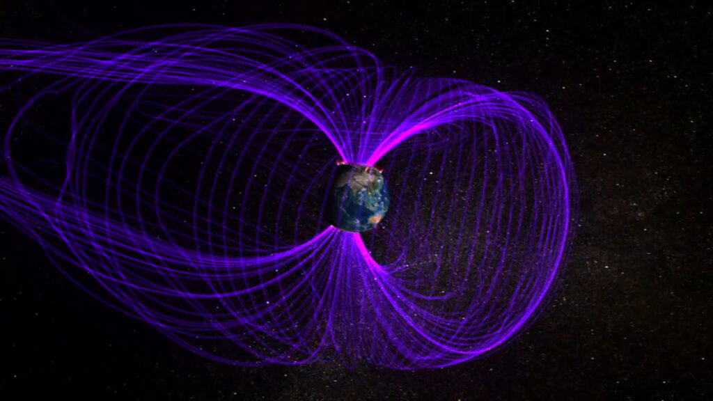The Earth's magnetic field has been quiet lately. Until now! 13