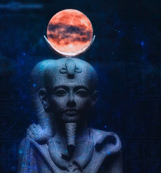 Traces of the ruler of ancient Egypt lead to the moon 87