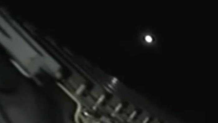 Many UFOs appeared near the Falcon-9 rocket 144