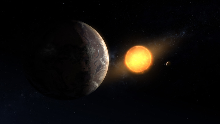 Scientists discovered a copy of our Earth and the Sun three thousand light years away 86