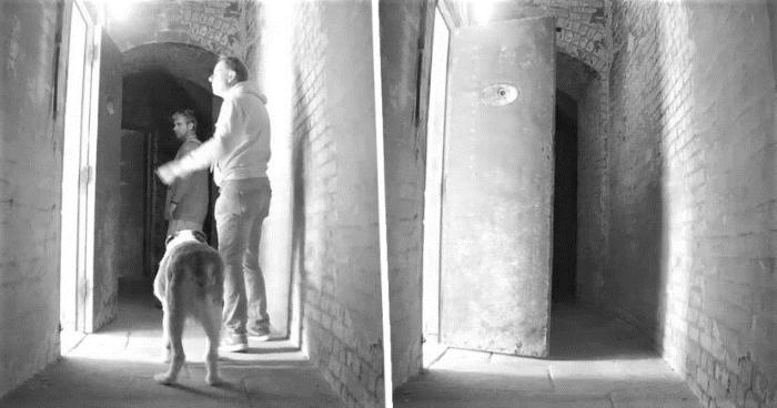 Ghost in an abandoned fort: British filmed a paranormal phenomenon 13