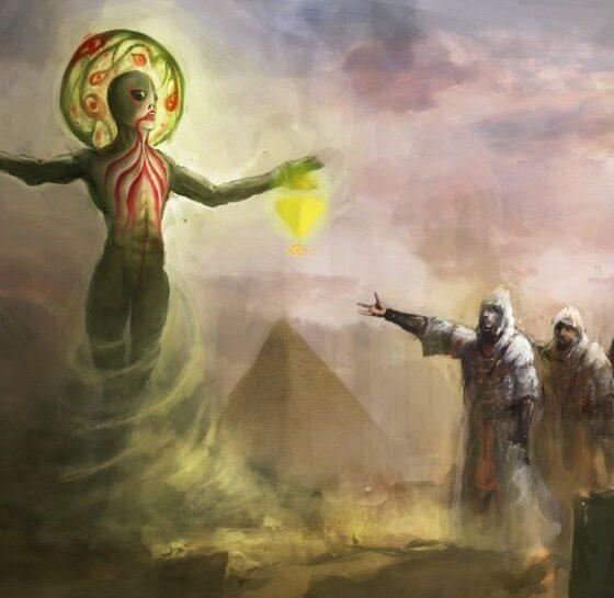 Vatican translator: Alien god is the creator of Homo Sapiens 87