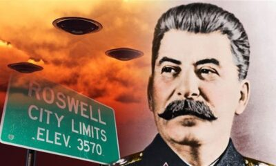 Red UFOs. Stalin suspected of alien attacks on the United States 91