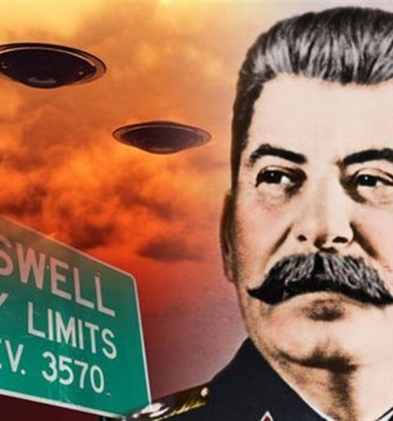 Red UFOs. Stalin suspected of alien attacks on the United States 97