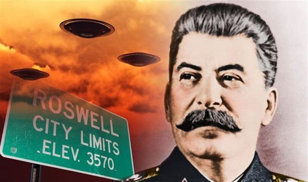 Red UFOs. Stalin suspected of alien attacks on the United States 6