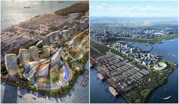 """China is preparing a project of a futuristic """"smart"""" city without cars 29"""