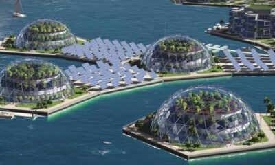 Security island: The rich wanted to live in floating cities 88