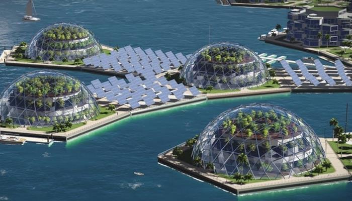 Security island: The rich wanted to live in floating cities 10