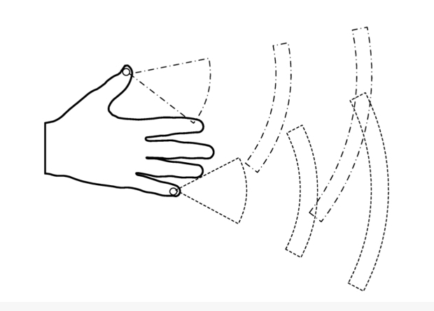 Facebook patented hand tracking system 2