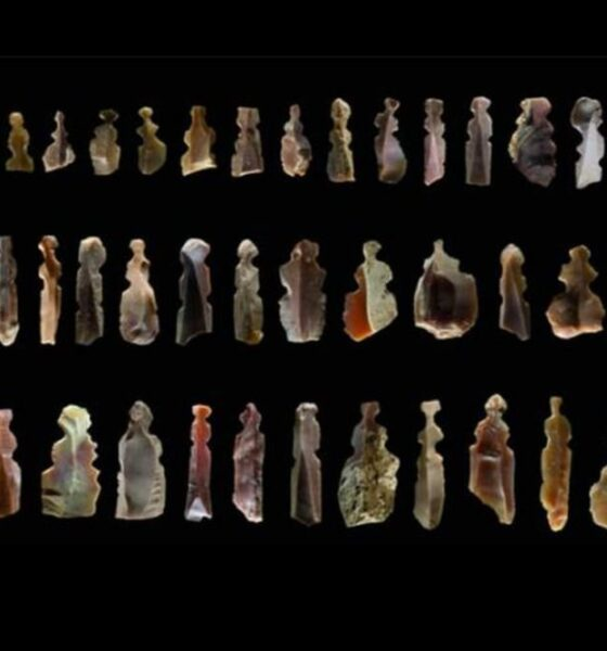 Figures of mysterious creatures found in 10,000-year-old graves in Jordan 87