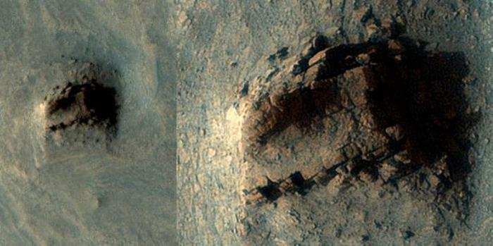 Ancient wall of megalith ruins found on Mars 86