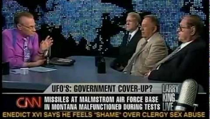 The Montana base incident: UFO disconnects 16 nuclear missiles 90