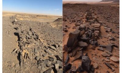 The mystery of 7,000-year-old stone structures discovered in Saudi Arabia 87