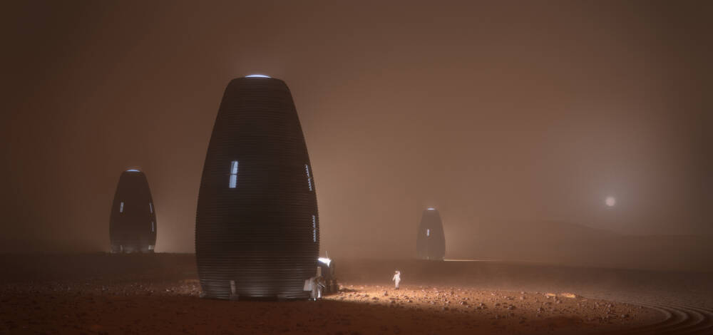 Tera: 3D printed Martian homes on earth 1