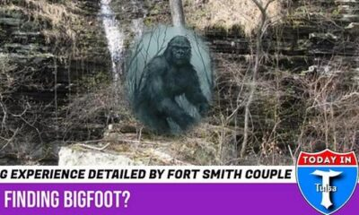 Bigfoots attacked tourists in the Ozark National Park, Arkansas 33
