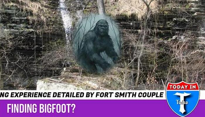 Bigfoots attacked tourists in the Ozark National Park, Arkansas 101