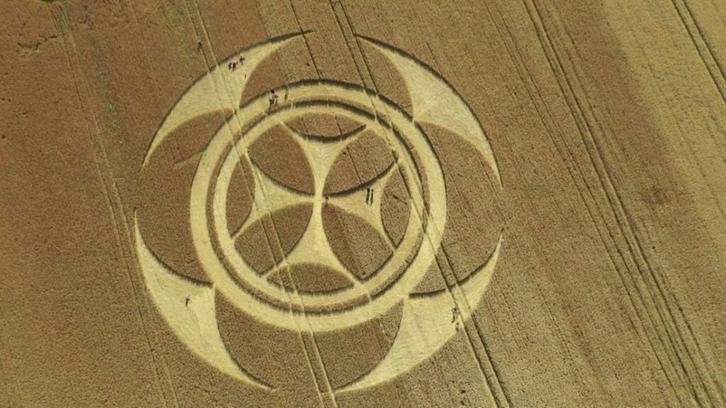 'Alien' message creativity. What the crop circles really hide 98