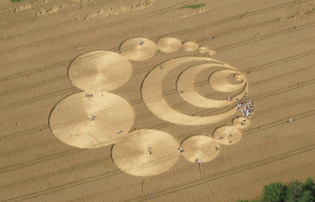 'Alien' message creativity. What the crop circles really hide 16