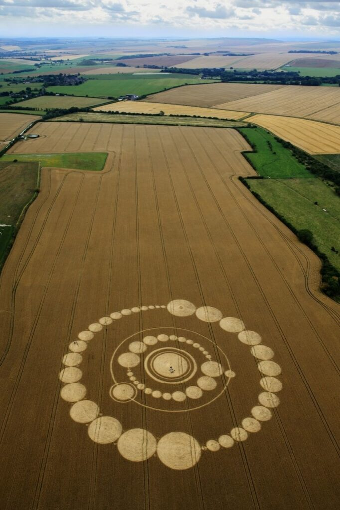 'Alien' message creativity. What the crop circles really hide 102