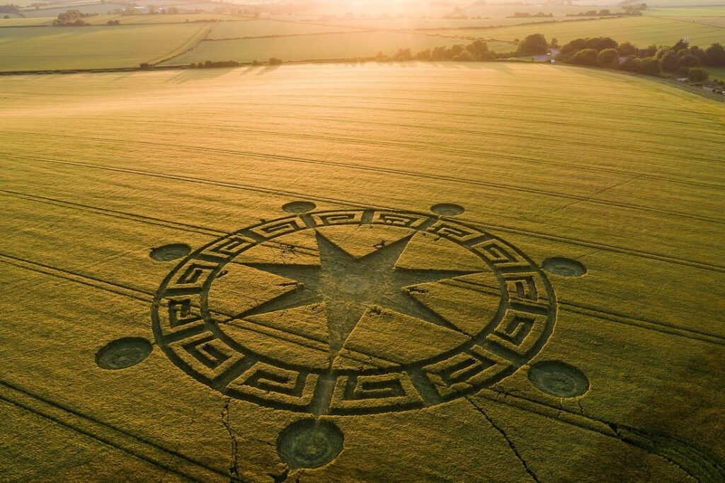 'Alien' message creativity. What the crop circles really hide 106