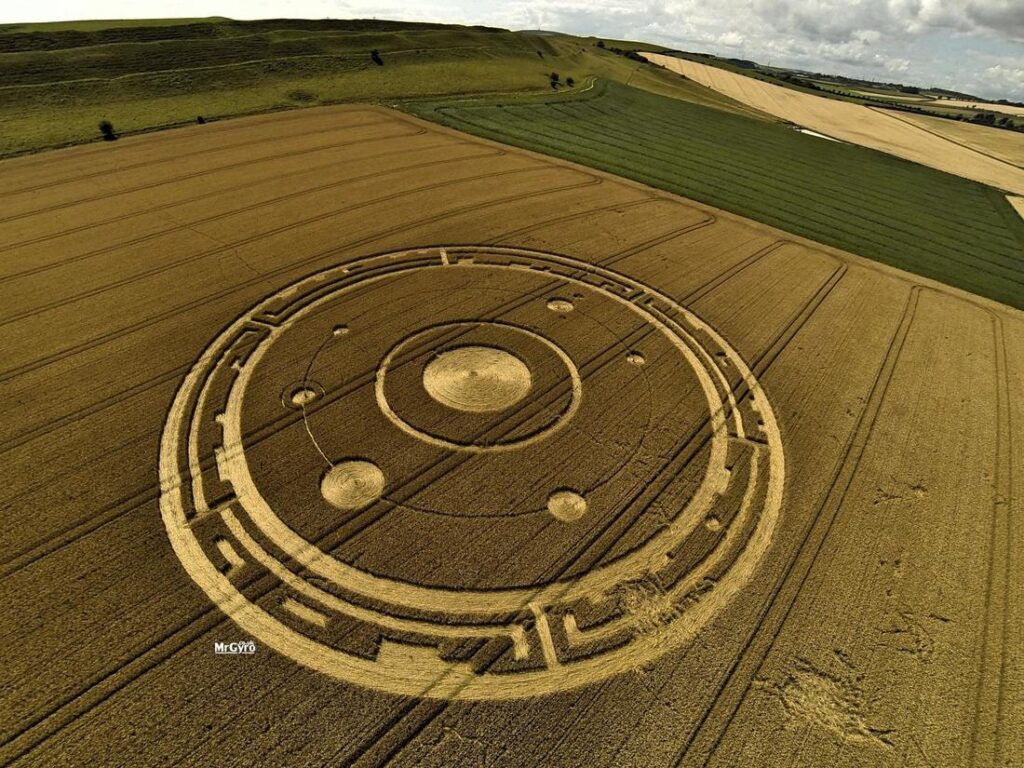 'Alien' message creativity. What the crop circles really hide 22