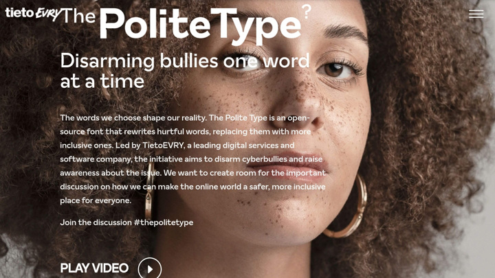 Forced tolerance: Finns introduced a font that saves from Internet trolls 10