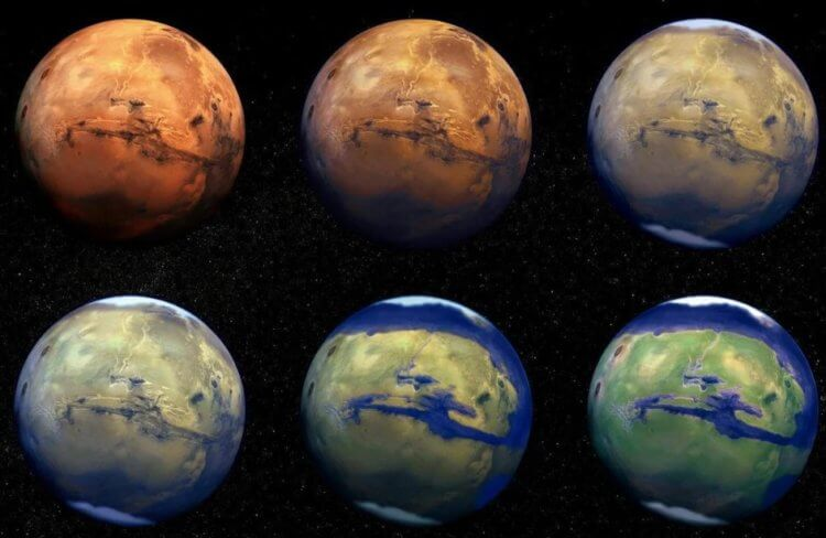 What did Mars look like millions of years ago? New theory 89