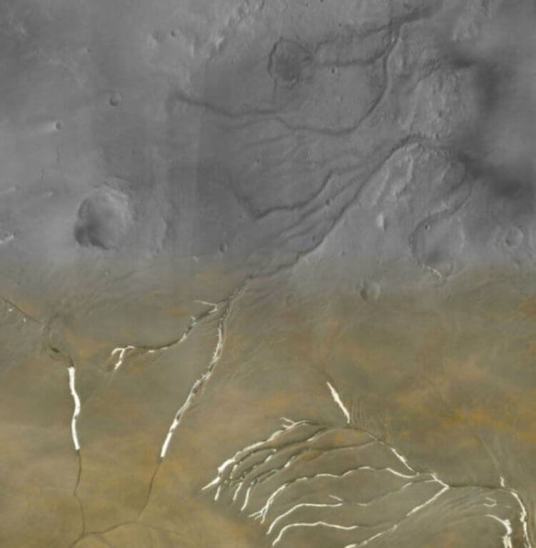What did Mars look like millions of years ago? New theory 91