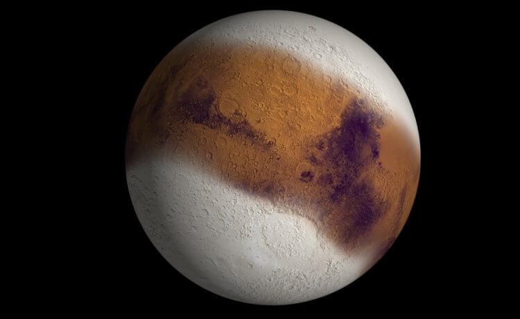 What did Mars look like millions of years ago? New theory 92
