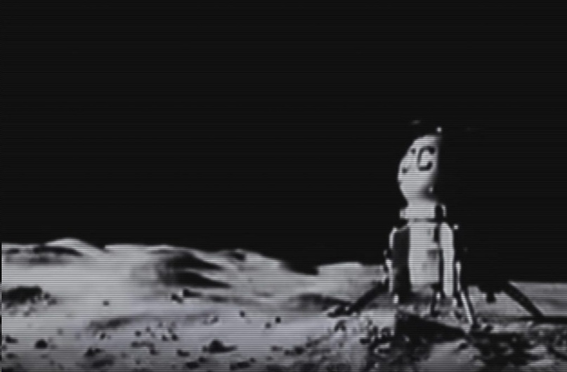 "The film ""First on the Moon"" gave impetus to the birth of a new patriotic legend"